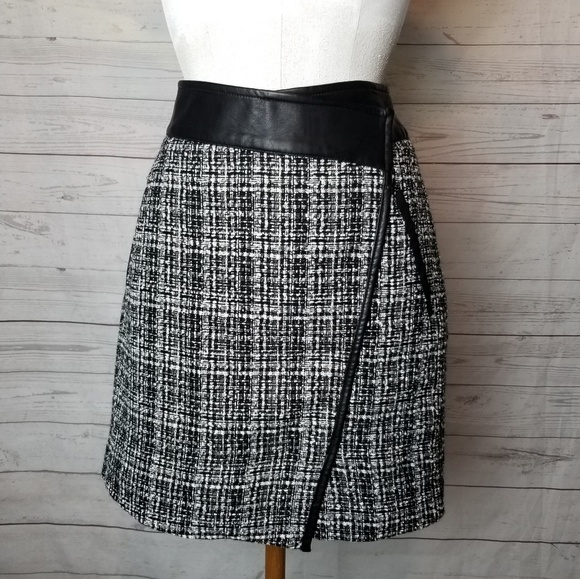 9f4f7d83ff Outback Red Skirts | Faux Leather Trim Skirt | Poshmark